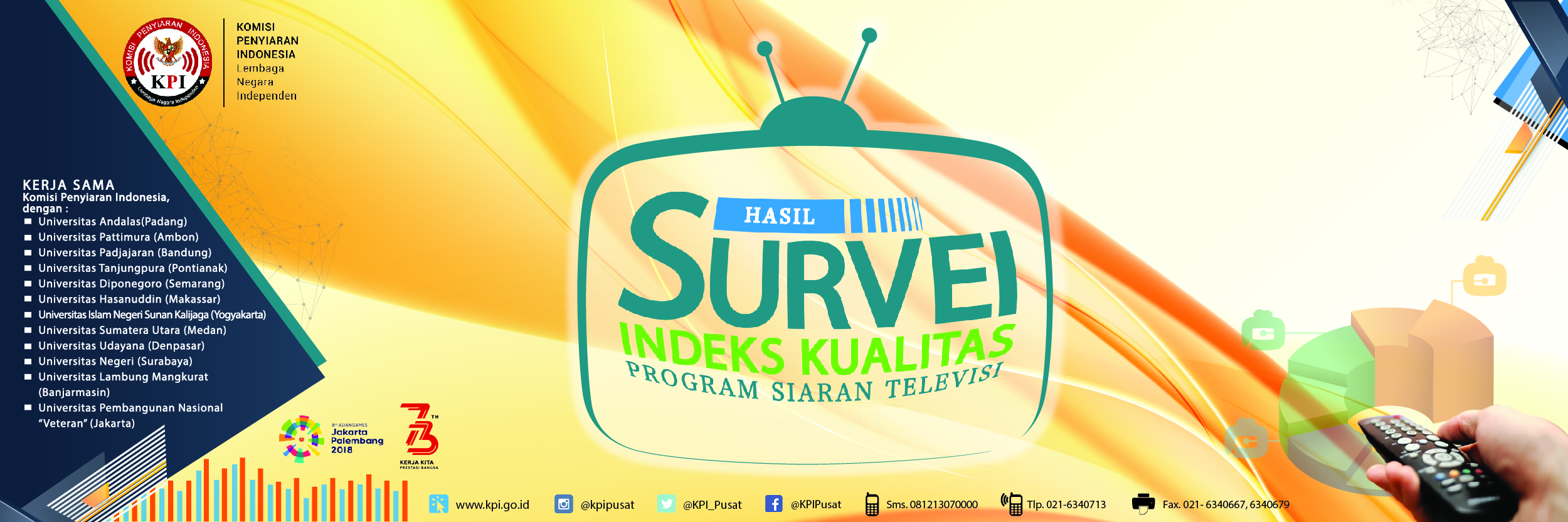Buku Hasil Survey Indeks Kualitas Program TV Periode I 2018