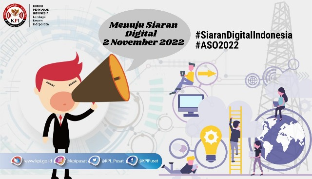 Menyambut Kick Off Siaran Digital 2 November 2022